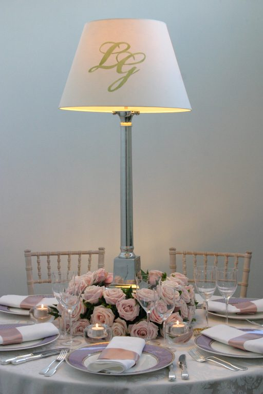 CORINTHIAN with MONOGRAMMED shade